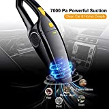 Ozoy Car Vacuum Cleaner With Device Portable and High Power Plastic 12V Stronger
