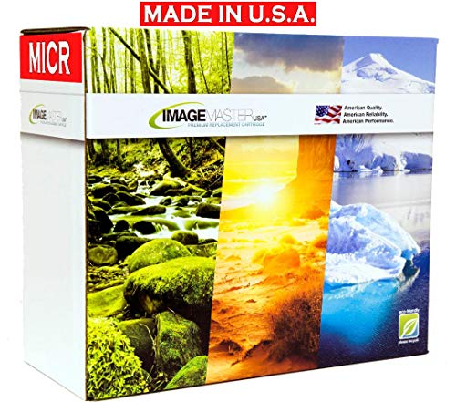 Micro ImageMaster 90A CE390A MICR Check Printing Toner for HP Laserjet 600, M601N, M601DN, M602N, M602DN, M603N, M603DN Series (Manufactured in USA)