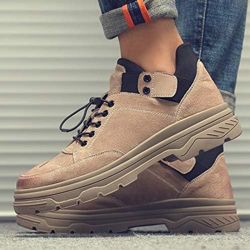 LOVDRAM Bottes Homme Bottes Courtes Décontractées Décontractées De Martin chaussures pour Hommes Chaussures Retro Tooling pour Hommes