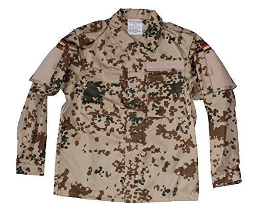 Leo Köhler Kommando Feldbluse Hemd Militär Bundeswehr Army Outdoor 3-Farben Tropentarn M