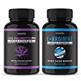 The Nitric Oxide + Saw Palmetto Power Bundle: Saw Palmetto and L-Arginine Capsules
