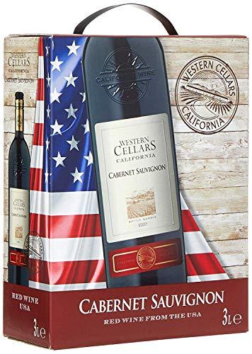 Western Cellars Vin Rouge Cabernet Sauvignon de Californie - Bag in Box 3 L