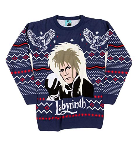 Labyrinth Unisex Knitted Christmas Jumper