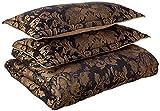 Austin Horn Classics 4-Piece Lismore Bedding Collection, Black, King