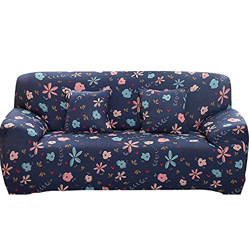 Funda de sofá elástica Fundas para sofá con Todo Incluido Funda de sofá para Diferentes Formas Sofá Loveseat Silla Estilo L Necesita 2 Funda de sofá A20 4 plazas