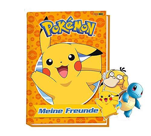 Buchspielbox Pokémon: Meine Freunde: Freundebuch (Gebundene Ausgabe) + 4 Pokemon-Sticker, ab 5 Jahren