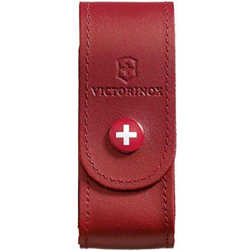 Victorinox V4.0520.1 Funda Piel, Grteletui, Leder Rot, Rojo, S