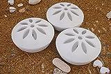 Set 3 Portazampirone da giardino, Portazampirone in coccio all'essenza di citronella con 3 spirali doppie in omaggio + una confezioni da 10 zampironi, diffusori profumatori, eleganti e pratici.