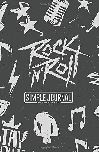 Simple journal - Everyday is your day: Monochrome astronaut with aliens notebook, Daily Journal, Composition Book Journal, Sketch Book, College Ruled ... sheets). Dot-grid layout with cream paper.