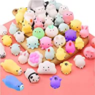 Squishy Toys- Amazing soft and cute. You will can not stop pinching them because of their kawaii design, great touch feeling and full squeeze-ability. Package Included- 20 Pcs kawaii mini squishies with different design decompression toys in total, 1...