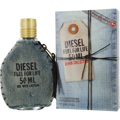 Diesel Fuel for life Denim Collection homme / men, Eau de Toilette, Vaporisateur / Spray, 50 ml