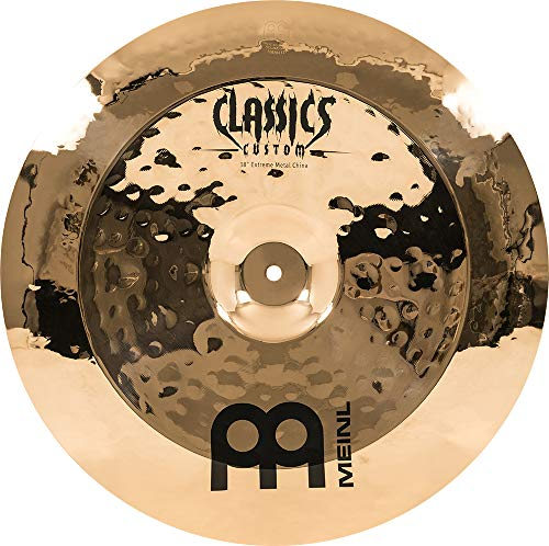 Meinl Cymbals CC18EMCH-B Classics Custom Extreme Metal Serie 45,7 cm (18 Zoll) China Brilliant Becken