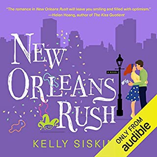 Page de couverture de New Orleans Rush