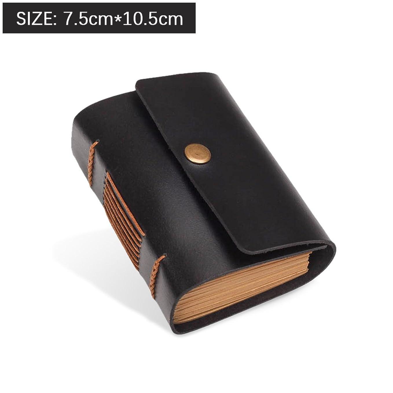 Zhi Jin レザー手帳 ビジネス手帳オフィス用ノート 人気なプレゼントクラフト紙の手帳リフィル