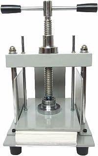 YUCHENGTECH A5 148 x 210 mm manuell papperspress maskin platt maskin för att smutsa ner kreditkort räkningar stämpel