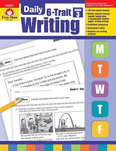 Evan-Moor Daily 6-Trait Writing, Grade 3