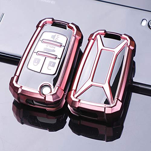 ZHHRHC Funda de TPU Suave para Llave de Coche, para Chevrolet Cruze Epica Lova Aveo Trax, para Opel Astra Vauxhall Corsa Meriva Zafira Antara JH