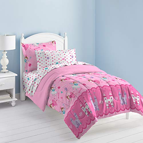 Magical Princess Ultra Soft Microfiber Girls Comforter Set