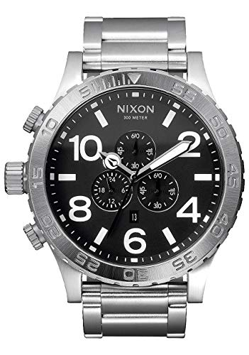 Nixon Herrenuhr Chronograph Quarz mit Edelstahlarmband – 1000 A083