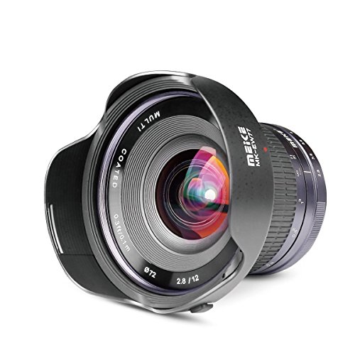 Meike Optics MK-01228CE - Objetivo Ultra Gran Angular para Nikon 1 (12 mm, f2.8)