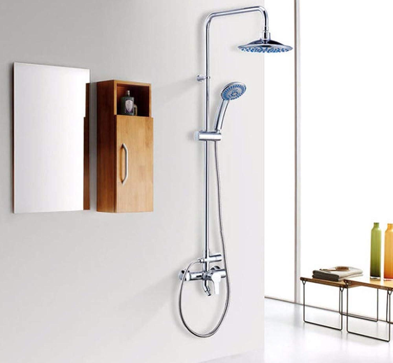Lvsede Bad Wasserhahn Design Küchenarmatur Niederdruck Voller Kupferhahn Voller Aufzug Drei-Gang-Dusche Bad L6795