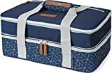 Arctic Zone Expandable Insulated Food Carrier, Navy