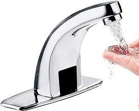 Grifo de lavabo con sensor de infrarrojos autom/ático para ba/ño a Nysunshine grifo de agua para lavabo sin contacto
