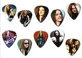 Cliff Burton Metallica (Limited To 100) Set Of 10 Loose Guitarra Pick Púa Para...