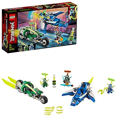 LEGO 71709 Ninjago Vehículos Supremos de Jay y Lloyd, Juguete de Construcción...