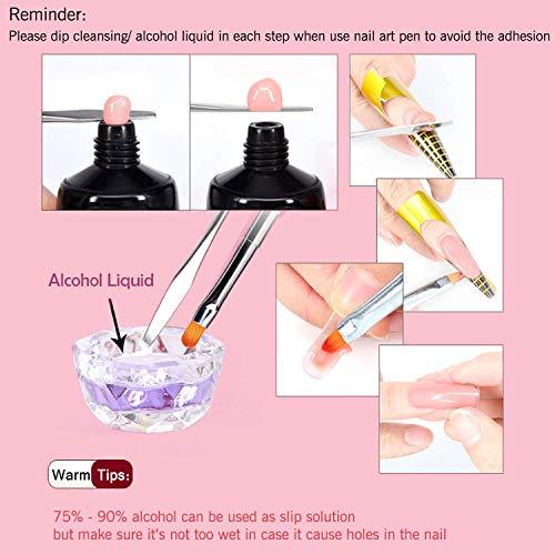 Gershion Nail Extension Gel Kit 30ml...