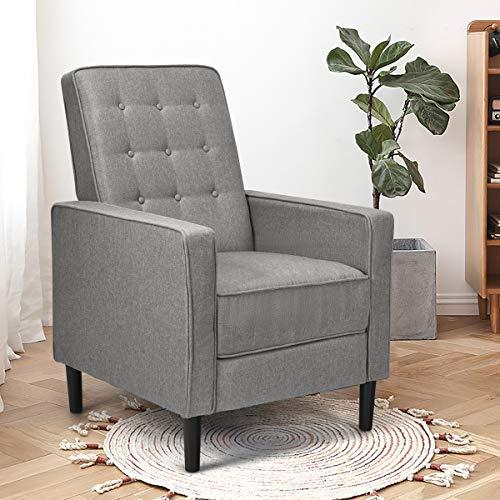 Giantex Push Back Recliner Chair