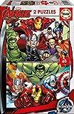 Educa Avengers 2 Puzzles infantiles de 48 piezas, a partir de 3 años (15932)