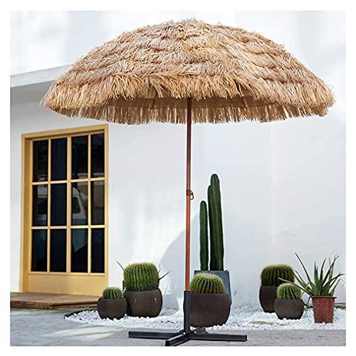 MXBC 7.4 pies Parasol Exterior Sombrilla de Patio 8 Varillas, 32 mm de Diámetro, Grandes Sombrillas para Patio, Patio al Aire Libre,Jardín,Piscina