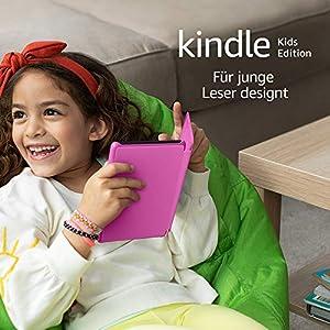 Kindle Kids Edition – mit Zugriff auf mehr als tausend Bücher, pinke Hülle