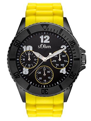 s.Oliver Time Herren-Armbanduhr SO-3296-PM