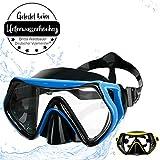 """Sportastisch Taucherbrille """"Dive Under"""" mit kristallklarem Panorama Blick Dank..."""