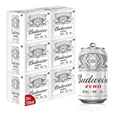 Budweiser Zero 0% Alcohol Free Lager Beer Can, 24 x