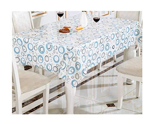 GCXZB Mantel Rectangular Simple Pequeño Pequeño Pastoral Mesa de Café Pastoral Libro Paño Impermeable Cena Mantel Mantel (Color: B, Tamaño: 137 * 100cm) Manteles (Color : B, Size : 137 * 180cm)