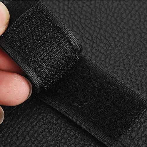 Organizador de visera de coche de tamaño universal resistente al desgaste, almacenamiento de tarjetas de visera solar, material premium para coche