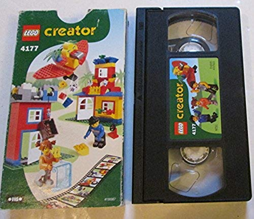 Lego Creator #4177 VHS Tape NTSC English #4147923
