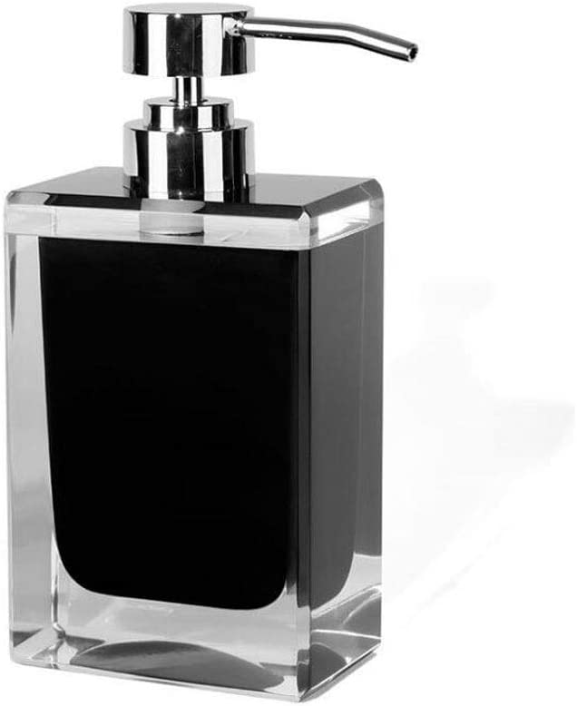 Countertop Soap Minneapolis Mall Max 54% OFF Dispensers Square Kitc Refillable Dispenser