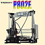 Tronxy 3d Desktop Printer p802e DIY alta precisión cnc Self Assembly
