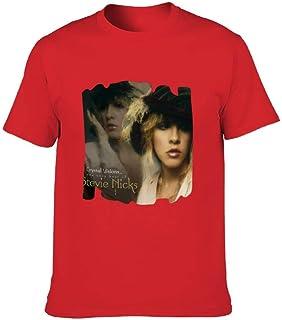 QNONGQスティービー・ニックス Stevie Nicks tシャツ メンズ 半袖 おおきいサイズ 夏 服 インナーシャツ 快適 カジュア スポーツ カップル 吸汗速乾 薄手 軽量 Tシャツ 綿100% 男女兼用
