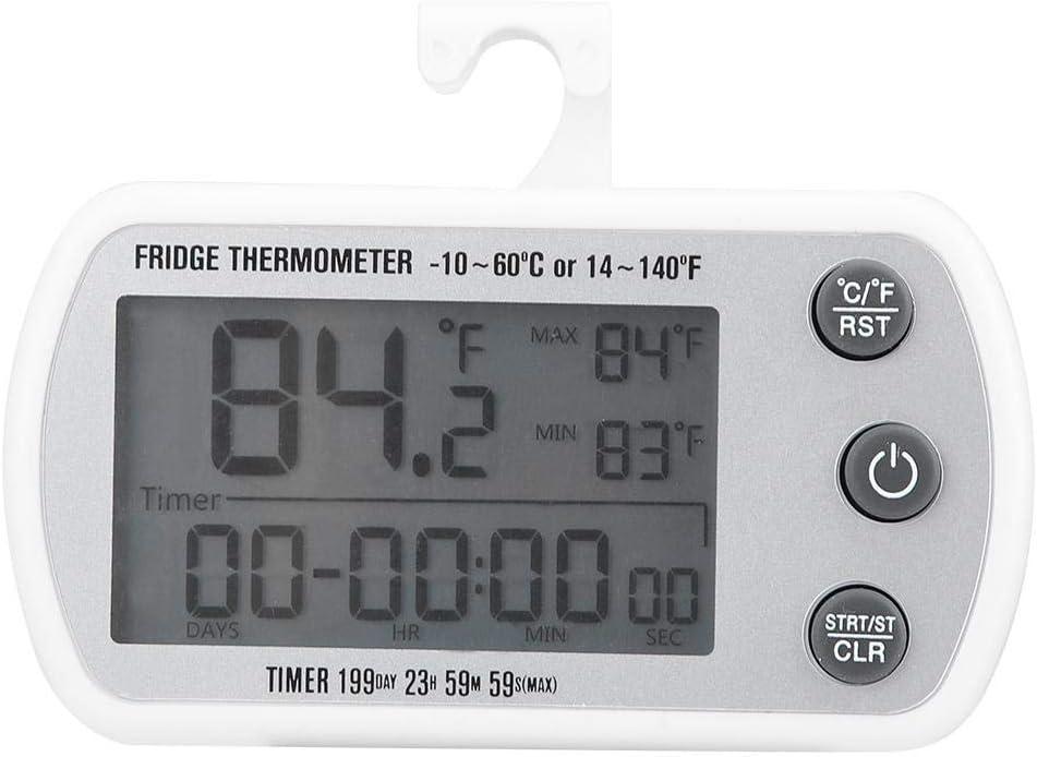 Freezer Thermometer Refrigerator Price reduction Cheap Temperature LED Digital Gauge