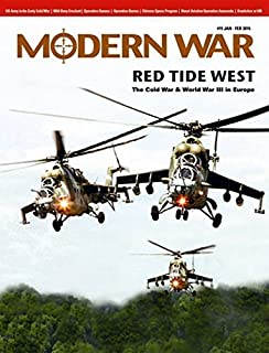 DG: Modern War Magazine #15, with Red Tide West Board Game