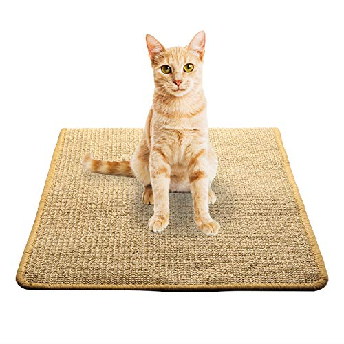 Akarden Cat Scratcher Mat Scratch Pad for Cat Grinding Claws amp Protecting Furniture157#039#039 X 236#039#039