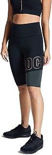 Rockwear Activewear Women's Force Fl Logo Bike Short from Size 4-18 for Bike Shorts Bottoms Leggings + Yoga Pants+ Yoga Tights