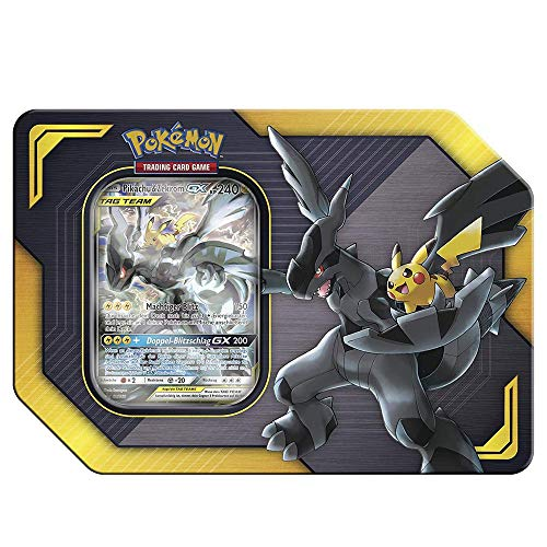 Unbekannt Pokemon - 1x Pikachu & Zekrom GX - Tag Team TIN Box - Deutsch
