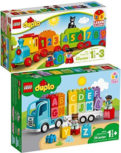 Duplo Lego 2er Set 10847 10915 Zahlenzug + Mein erster ABC-Lastwagen