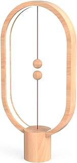 プレゼント 新生活 テレビで紹介された商品 Heng BalanceLamp;Light wood 王様のブランチ 紹介された商品 reddot デザイン賞を受賞した商品 磁石で球体が浮遊 ナイトライト USB式充電 アダプター付き インテリア おしゃれ照明